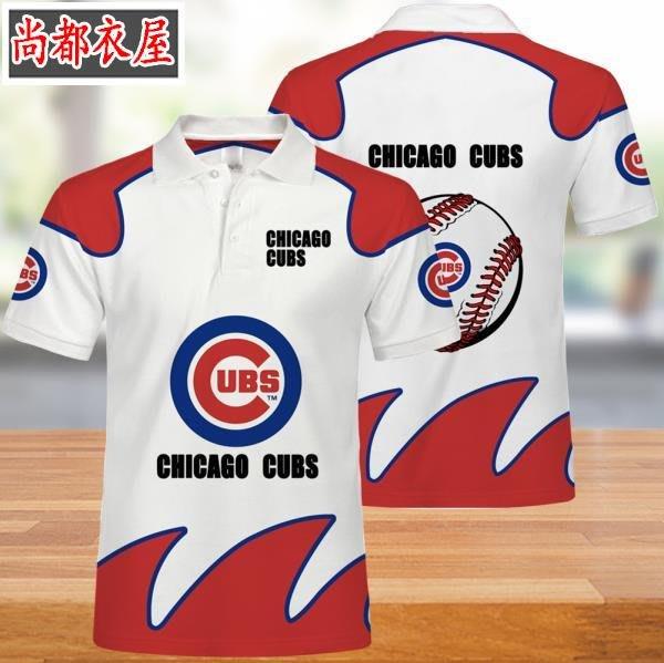 【尚都衣屋】 爆款MLB芝加哥小熊隊男女polo衫t恤夏季 philadephia