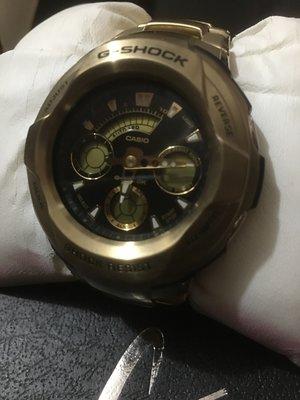 絕版超罕重金屬黑金 G-Shock! 全新 G-1800GD-9AJF