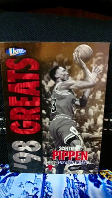 1997-98 Fleer Ultra '98 Greats Scottie Pippen