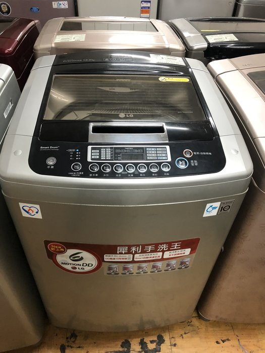 【小賴二手家電(冰箱 電視 洗衣機)】LG樂金13公斤直驅變頻(內轉盤)洗衣機  賣場各種樣式齊全又便宜