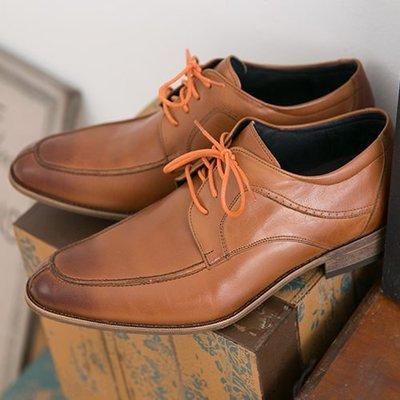 Ovan 男款 義式煙勳木紋跟 MIT手工質感皮鞋 牛津鞋 樂福鞋 紳士鞋 尖頭鞋