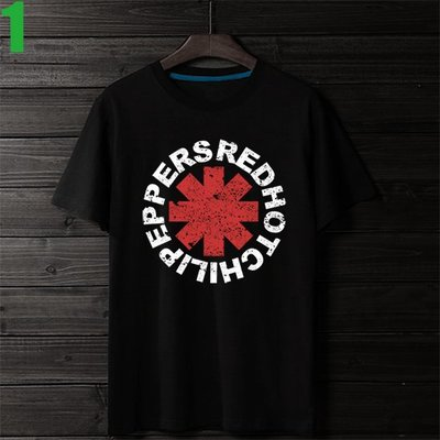 Red Hot Chili Peppers【嗆辣紅椒】短袖搖滾樂團T恤(男生版.女生版皆有) 購買多件多優惠!【賣場一】