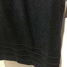 WEALTH HONOR 黑色平口針織洋裝