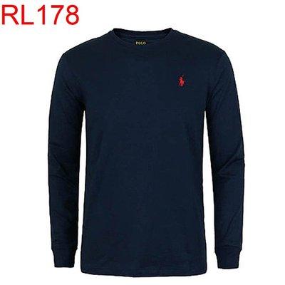 【西寧鹿】 Ralph LaurenPolo 男生 長袖T恤 絕對真貨 美國帶回 可面交 RL178