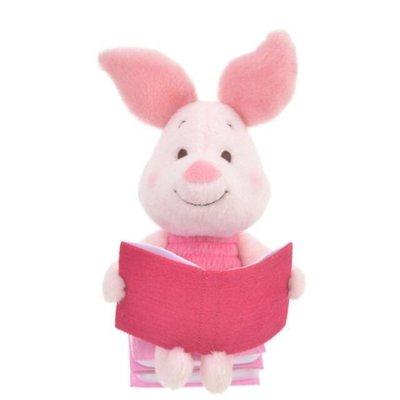 *B Little World * [現貨]東京迪士尼專賣店限定/念書小豬玩偶/小熊維尼/東京連線