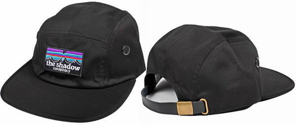 [I.H BMX] SHADOW OUT THERE CAMP HAT 五面板街帽 黑色/海軍藍 直排輪/街道車/DH