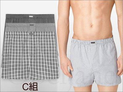 官網Calvin Klein Brief CK卡文克萊寬鬆居家內褲平口褲四角褲男內著三件一組S M L號愛Coach包包