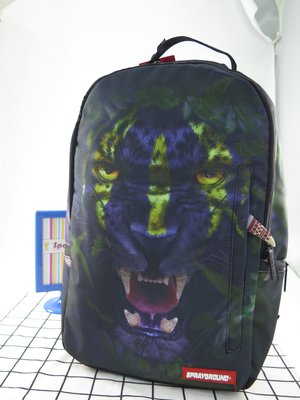 iSport愛運動 Sprayground TRIBAL LEOPARD 黑豹 後背包 B1066
