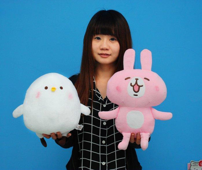 娃娃夢幻樂園~卡娜赫拉的小動物娃娃~正版授權~卡娜赫拉兔兔娃娃/小雞p助娃娃~交換禮物~情人節禮物~高雄可自取