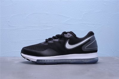 Nike Zoom All Out Low 2.0 氣墊 黑白 網面 休閒運動緩震慢跑鞋 男鞋 AJ0035-003