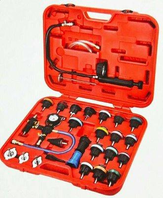 【鎮達】29PCS多功能水箱壓力錶組 水箱測漏器 水箱檢測器