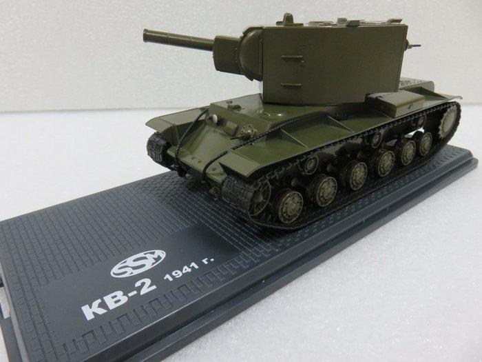 宗鑫貿易 1/43 Herpa 83SSM3033 KV-2 前蘇聯 二戰自走砲車