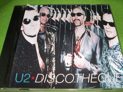 ~春庄生活美學小舖~2手西洋CD           U2--DISCOTHEQUE   美國版