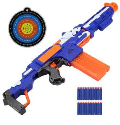 生存遊戲-電動軟彈槍玩具槍子彈連發狙擊軟彈槍兼容nerf子彈玩具槍