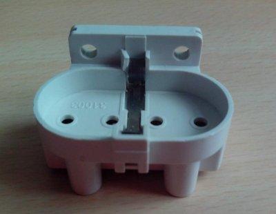2G11標準燈座 H管PL平四針燈座 一排四針 燈頭DIY配件 台北市