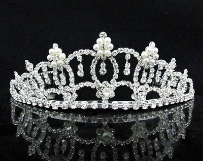 結婚飾物;結婚頭飾;婚禮頭飾;新娘頭飾;婚禮皇冠; BRIDE BAND;BRIDAL HEADPIECE;WEDDING TIARA COMB #9072
