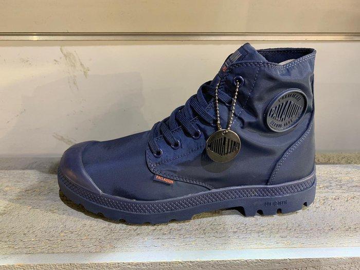 南◇2019 6月 PALLADIUM PAMPA PUDDLE LITE 海軍藍 高筒靴子 防水 男女76117400