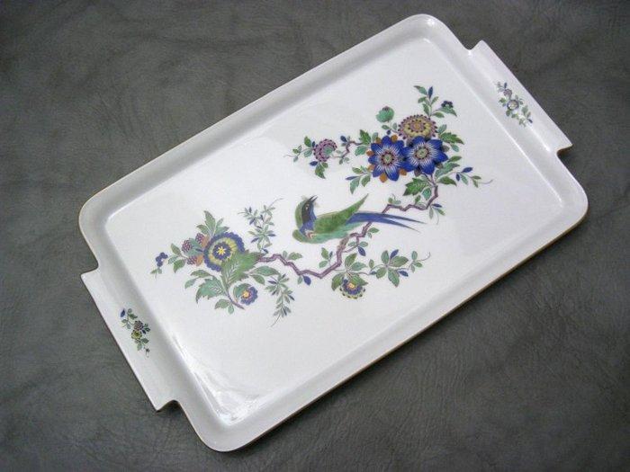 德國名瓷麥森Meissen 日本風格 柿右衛門 花鳥畫盤  38公分大盤 一級典藏品 歡迎提問詢價