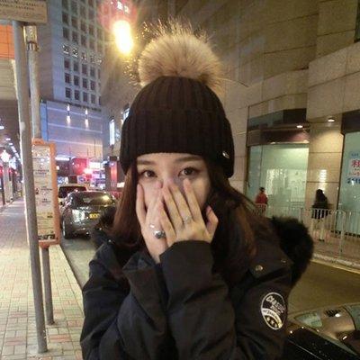 ❤Princess x Shop❤韓國針織帽大毛球女時尚加厚保暖 一字領露肩正韓國連線洋裝毛衣【DX521】
