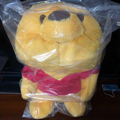 日本景品 迪士尼 小熊維尼 大型趴睡 娃娃 玩偶