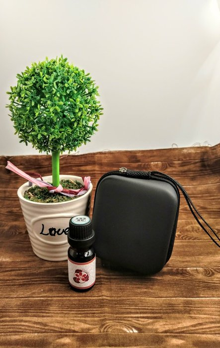 【三越Garden】方型精油收納包 5ml 8格  防壓精油收納包