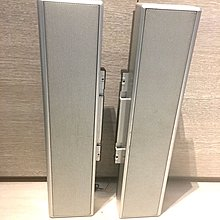 95%新防磁低音反射式喇叭一對 bass-reflected magnetic shelled speaker