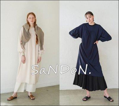 |SaNDoN|CLANE 2020春季新品 FRONT GATHER LOOSE縮口經典洋裝系列 200303