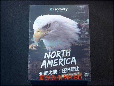[藍光BD] - 北美大地:狂野無比 North America 三碟珍藏版 ( 台灣正版 )