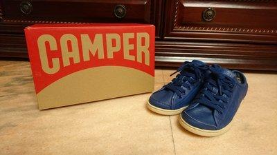 百貨專櫃 CAMPER 藍色 皮革 休閒鞋 平底鞋 女鞋 38號