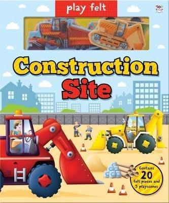 全新 現貨 Play Felt Construction Site 羊毛氈遊戲書 男寶最愛