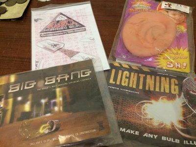(魔術道具出清07)自動找牌Eject 日本大耳朵 燈泡自破Big Bang 燈泡自亮Lightning