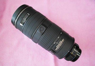 Nikon AF-S 80-200mm 1:2.8 D  9成新