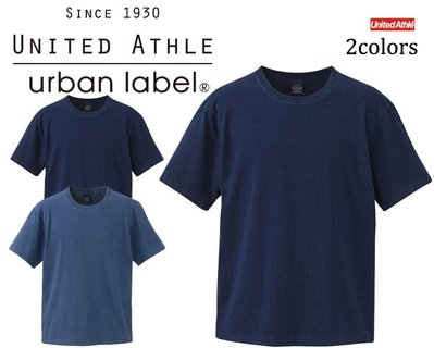 【Admonish】UA 3991 United Athle 5.3  T-Shirt/丹寧藍染 石洗純棉T恤 兩色
