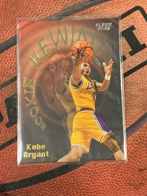 97-98 Fleer  洛杉磯湖人隊 Kobe Bryant 球員卡