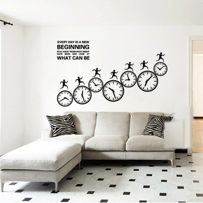 創意壁貼鼓勵標語牆貼家用裝飾辦公室貼紙標識激勵志(中號)_☆優購好SoGood☆