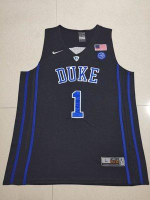 錫安·威廉森(Zion Williamson)NBA美國杜克大學 NCAA Basketball 1號 黑色