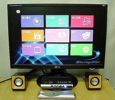 範【小劉二手家電】22吋液晶電視(液晶螢幕+電視盒),有紅黃白3色AV端子,可接監視器,機上盒,MOD,DVD,卡拉OK