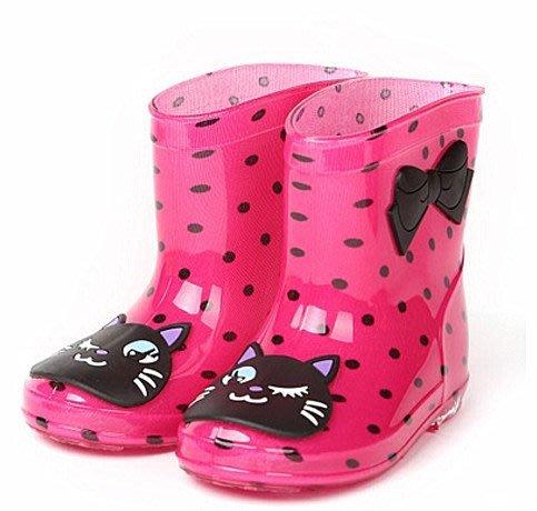 兒童可愛雨鞋(中童)