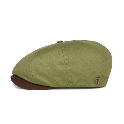 【ScrewCap】BRIXTON加州品牌 BROOD SNAP CAP - LIGHT OLIVE/BROWN