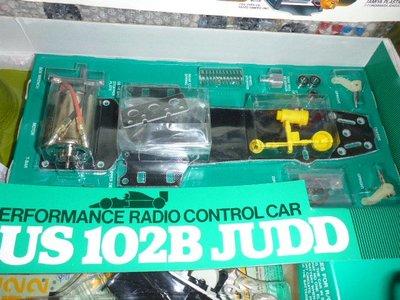 Vintage Tamiya 1/10 RC F1 Car - Lotus 102B Judo