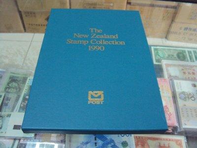 [駿宜]紐西蘭郵票   1990年郵票冊