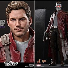 Hottoys Star Lord 1.0 MMS255 已開95%極新 hot toys starlord guardians galaxy avengers