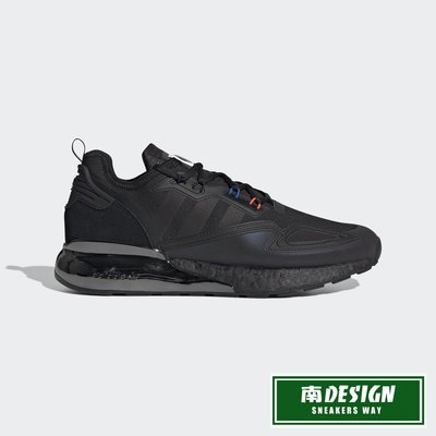 南◇2020 12月 ADIDAS SPACE RACE ZX 2K BOOST 經典鞋 H03247 黑 運動鞋