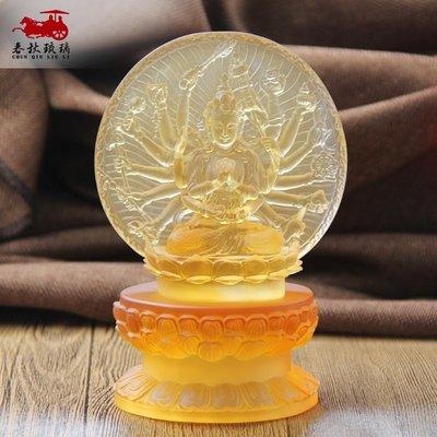古法琉璃底座觀音佛像供佛寺院雙層蓮花供臺擺件圓形橢圓形須彌座佛像擺件