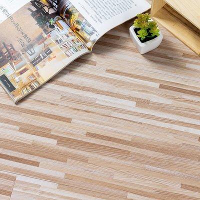 仿木紋地貼 地板貼 1.5坪 【免運】 809-木紋地貼 PVC地板-36片 阻燃防水耐磨地貼
