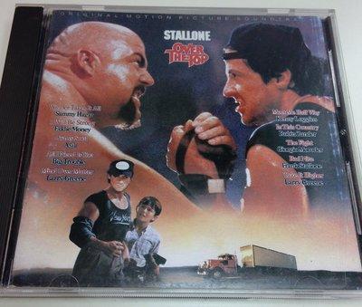 超越巔峰 Over the top 電影原聲帶, Columbia 1987年原版CD, 非常稀有, 已絕版, 90%新