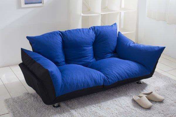 椅的世界  日式荷楓物語多功能雙人沙發/布沙發/沙發床椅  椅背加高 超舒適 超好坐