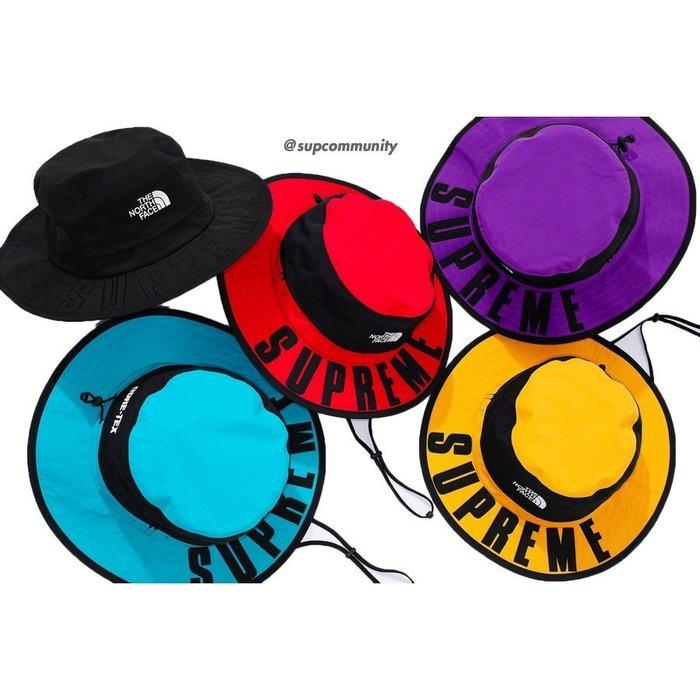 【美國鞋校】預購 Supreme SS19 TNF Arc Logo Horizon Breeze Hat 漁夫帽