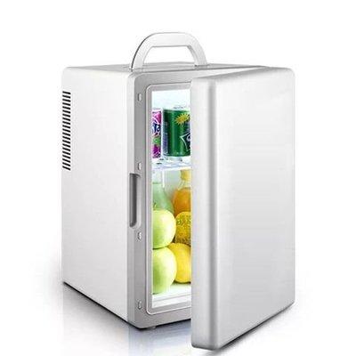 夏新制冷車載冰箱迷你小型冰箱制冷家用宿舍車家兩用單門式冷暖箱時尚百貨