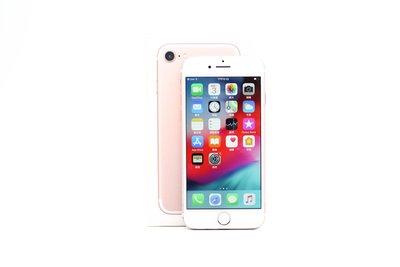 【高雄青蘋果3C】Apple iPhone 7 128GB 128G 玫瑰金 4.7吋 iOS 12.3.1#47494